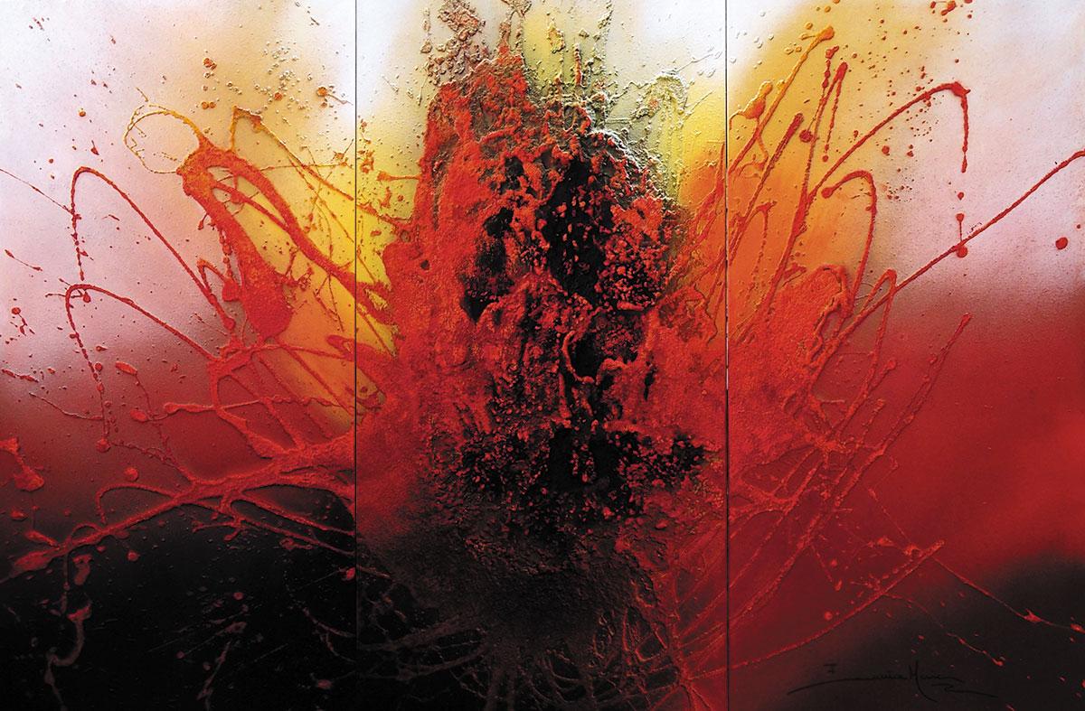 Amor é fogo que arde de Eunice Maia