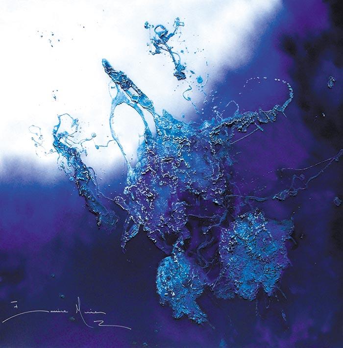 Eunice Maia | Swinging blue II